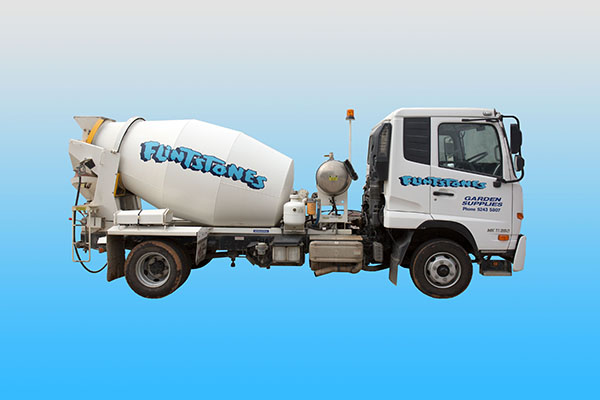 Mini Mix Concrete Truck